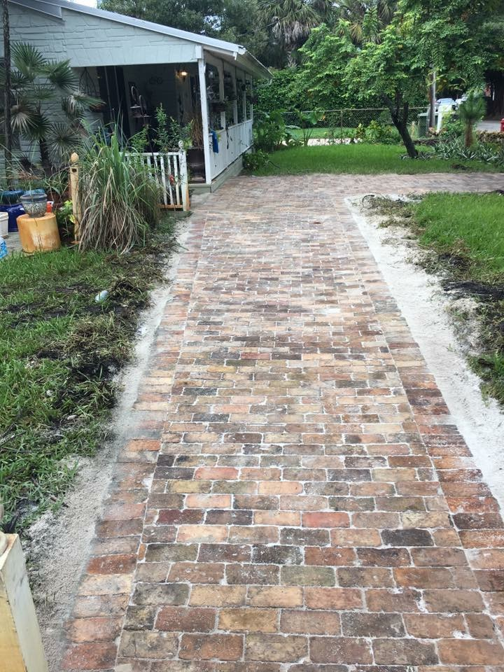 professional driveway paver installation in Austin TX